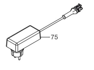 Pièces détachées Gardena - transformateur - chargeur