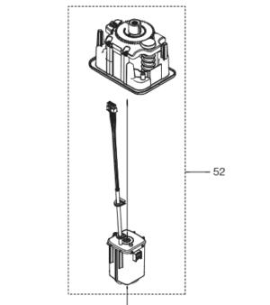 Pièces détachées Gardena - moteur de coupe complet