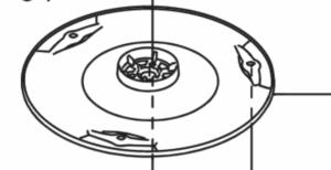 Pièces détachées Gardena - Disque - plateau de coupe