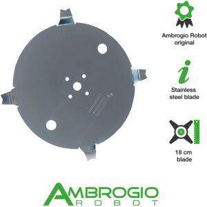 Lame 18cm robot tondeuse ambrogio Techline L20Z01000A